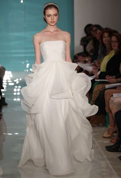 Reem Acra Wedding Dresses   Spring 2013