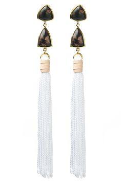Lizzie Fortunato Surf Tassel Earring | Kirna Zabete