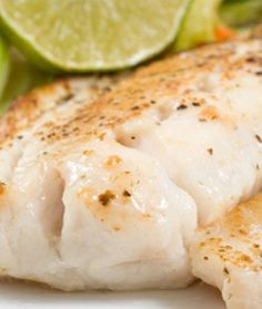 Lime Mahi Mahi (takes 20 min, very low fat, the BOMB!  But used FishSauce instead of Soy, or Tamari Sauce.  We like it better.)
