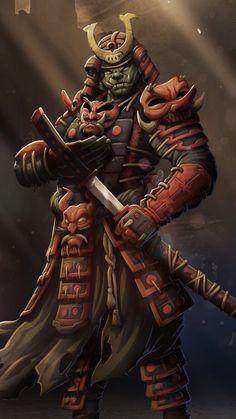 Fantasy, artwork, samurai Wallpaper Ninja Wallpaper, Samurai Wallpaper, Wallpaper Earth, Fantasy Rpg, Dark Fantasy Art, Fantasy Artwork, Japanese Art Samurai, Japanese Warrior, Dnd Characters