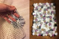 A+woman+wraps+yarn+around+leftover+toilet+paper+tubes+and+look+what+she+does+in+her+living+room!