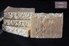 Jabón natural de leche, avena y miel