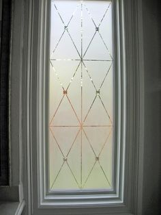 Etched windows