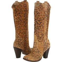cowboy boots & cheetah!!!!