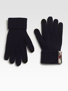 Burberry  Cashmere Gloves...I must have these!!!!