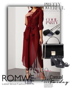 """ROMWE 1 / X"" by ozil1982 on Polyvore featuring moda"