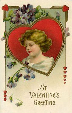 St. Valentine's Greeting-Maud Humphrey Bogart.