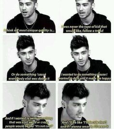 He is such a good role model. I love that about him. He's not afraid to be himself.