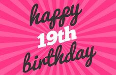 Happy 19th birthday WISHES - http://www.topbirthdaywishes.org/19-years-old-happy-birthday-wishes/