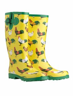 Gardener's Wellies  for backyards w/ chicken coops !