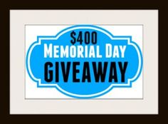 ⭐ Memorial Day Giveaway