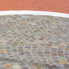 Porfido - Pavimentazione esterna: cubetti e segato