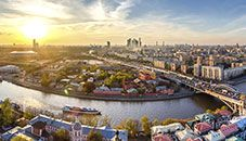 Downtown Moscow (Russia)