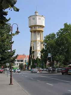 Water Tower, Budapest Hungary, Art Direction, History, History Books, Historia