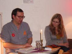 Lesebühne des Glücks, 2.Autoren-Abend, Jannis mit Hilke-Gesa Bußmann