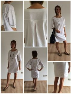 Hecho a mano Mieke: Een op maat gemaakte jurk. Mieke hecho a mano: Ein Kleid nach . Sewing Dress, Diy Dress, Sewing Clothes, Diy Clothes, Tunic Sewing Patterns, Dress Patterns, Fashion Sewing, Diy Fashion, Make Your Own Clothes