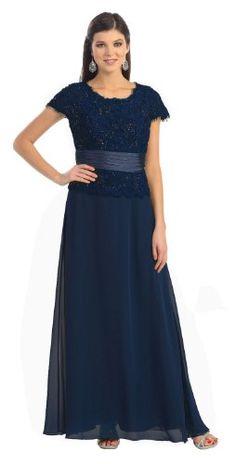 Mother of the Bride Formal Evening Dress #571 (Medium, Navy) US Fairytailes,http://www.amazon.com/dp/B0032K03B6/ref=cm_sw_r_pi_dp_l5znsb0BTS2WSJN9