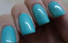 ELES Cosmetics - Masquerade Nail Polish Collection  Vivaldi Blue www.elescosmetics.com #ELES #ELESCosmetics #cosmetics #mineral #makeup #natural #beauty #NailPolish