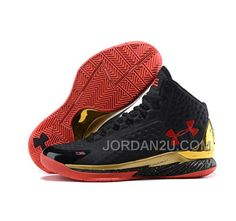 Under Armour Stephen Curry 1 Shoes red black 12cfd26de