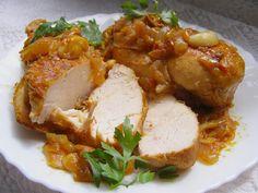 Stew, Chicken Recipes, Spicy, Garlic, Pork, Food And Drink, Cooking, Diet, Onion