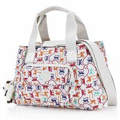Kipling Jacqueline 4 Compartment Shoulder Bag & Adjustable Strap