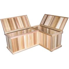 Corner Storage Benches + Cedar Chest  THIS IS IT!!!