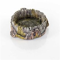 BioBubble Decorative Stump Bowl - Small - aquarium decoration