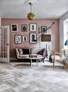 Pale Pink + Black: A Match Made in Heaven | Apartment Therapy