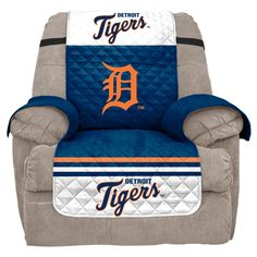MLB Detroit Tigers Recliner Slipcover, Durable