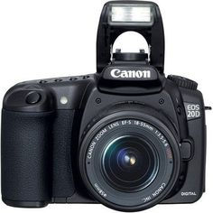 The perfect EOS for advanced amateurs and professionals alike the EOS 20D sets new standards in its class. Featuring an all-new 8.2 MP CMOS sensor a second-generation DIGIC II image processor 5 fps...