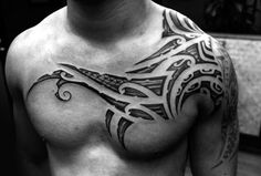 The Best Collar Bone Tattoos for Men