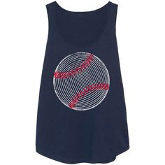 LC trendz Plus Navy Baseball Line Art Tank ($9.99) ❤ liked on Polyvore featuring plus size women's fashion, plus size clothing, plus size tops, plus size, plus size tanks, plus size cotton tank tops, blue tank top, navy blue tank top and blue tank