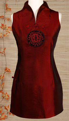 Tunic Inspired Qipao Top | Chinese Apparel | Women | Shirts & Jackets