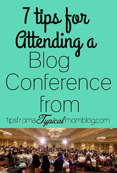 These are great tips for anyone who is planning on attending a blog conference. What to wear, what to bring, and how to talk to sponsors. #BYBC2015 #TasteOfHome #Blogging #Tips