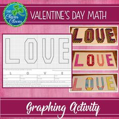 Area and Perimeter - Valentine's Day by The Clever Clover 3rd Grade Activities, 5th Grade Math, Area And Perimeter, Go Math, Teacher Pay Teachers, Valentines Day, February 14, Words, School Stuff