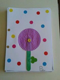 Tapa d'àlbum de primavera per als més petits. Diy Paper, Paper Crafts, Diy Crafts, Crafts For Kids, Arts And Crafts, Origami, Yoga For Kids, Kindergarten, Classroom