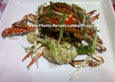 Crabs with Salt and Pepper Filipino Recipe - Crabs with Salt and ...