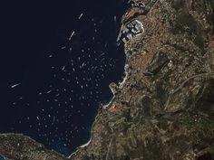 Top 20 спутниковых изображений DigitalGlobe в 2012 году