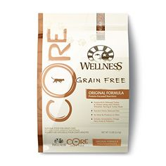 Wellness CORE Natural Grain Free Dry Cat Food Original Turkey  Chicken 12Pound Bag -- Click on the image for additional details.