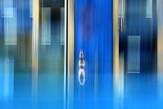 La gara di tuffi a Baku, in Azerbaigian, durante i Giochi europei. - (Matthias Hangst, Getty Images)