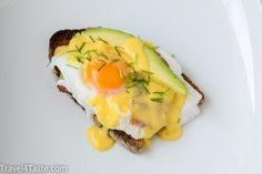 Eggs Benedict (with Avocado) | Travel For Taste