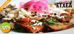 Mar Etxea Gastrobar en Nuevo Vallarta - $32 en lugar de $65 por 1 Deliciosa Orden de Chilaquiles Rojos o Verdes Click  http://cupocity.com