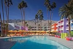 New Rainbow Hotel in Palm Springs - My Modern Metropolis