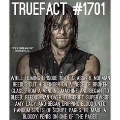 Norman is so crazy and this doesn't surprise me,
