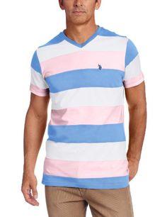 U.S. Polo Assn. Men's Striped Short Sleeve T-shirt, Pink Lemonade, Large U.S. Polo Assn.,http://www.amazon.com/dp/B00BNSD3IY/ref=cm_sw_r_pi_dp_RB5Btb0NDVCSPK96