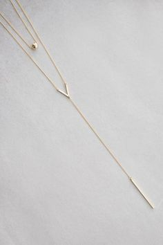 Lovoda - Aries Layered Y-Necklace, $18.00 (http://www.lovoda.com/aries-layered-y-necklace/)