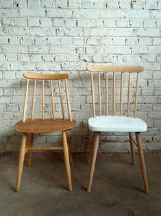 chaise bois Tapiovaara Finlande