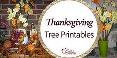 Thanksgiving Tree Printables