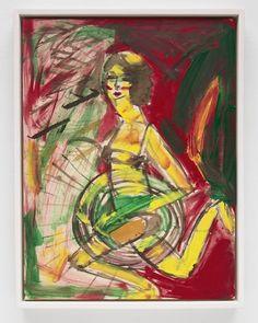 いいね!210件、コメント3件 ― Bridget Donahue (gallery)(@bridgetdonahue.nyc)のInstagramアカウント: 「#SusanCianciolo Down the River, Angel Flying Too Close to the Ground, 2019 Water-based paint on…」