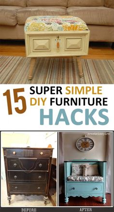 DIY Furniture, DIY Furniture Hacks, DIY Furniture Tips and Tricks, Furniture, Homemade Furniture, Thrift Store Shopping, Thrift Store Shopping Tips, DIY Home, Easy DIY Remodels.